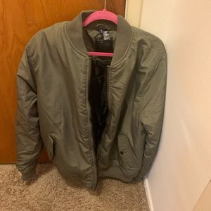 Green Xl Bomber Jacket from H&M.
